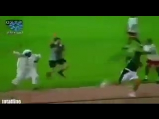 The prince of Saudi Arabia after the game