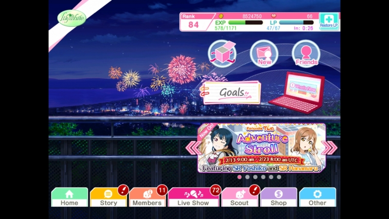Love live step-up scout