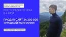 Константин Гончаров. Рост среднего чека в 4 раза. Продал сайт за 200 000 рублей турецкой компании