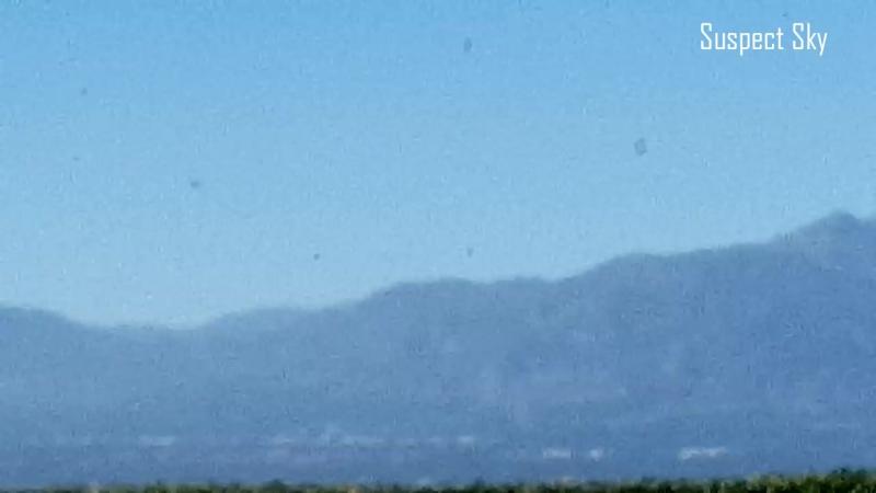 Несколько НЛО были замечены в Калифорнии