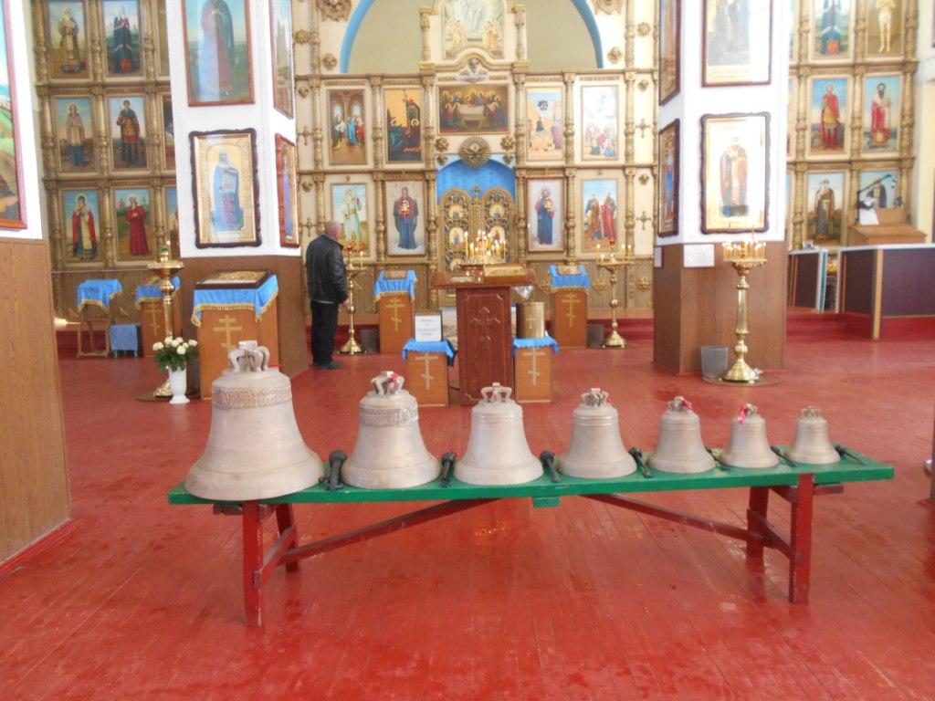 В Петропавловском храме ст.Зеленчукской обновили колокольный ансамбль