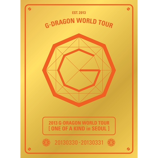 G-Dragon альбом 2013 G-DRAGON WORLD TOUR 'ONE OF A KIND in SEOUL'