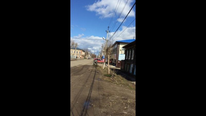 прогулка по Большой Покровской улице г Сарапул
