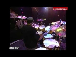Dennis Chambers - Buddy Rich Band: DRUM SOLO from