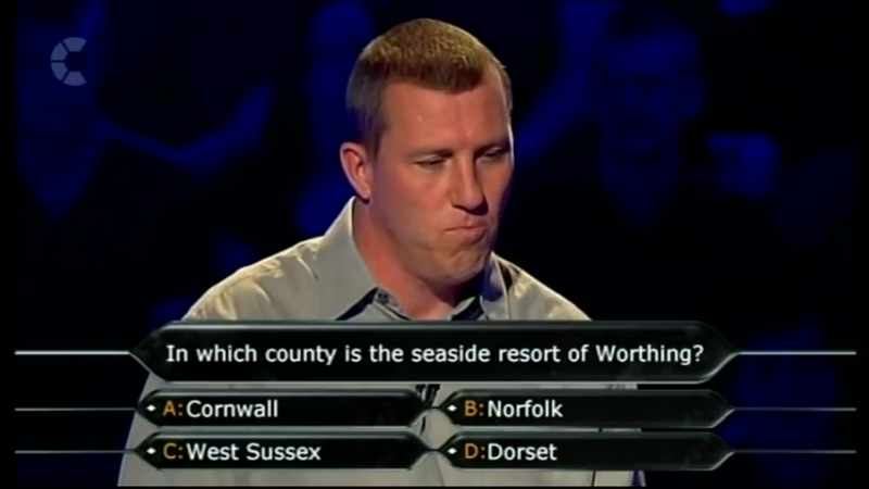 Who Wants to be a Millionaire (09.10.2007)