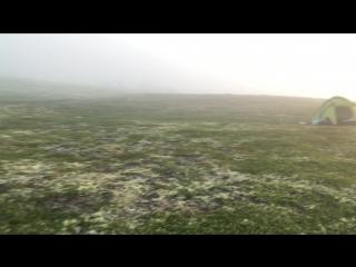 Ночевка в тундрах Кольского полуострова.