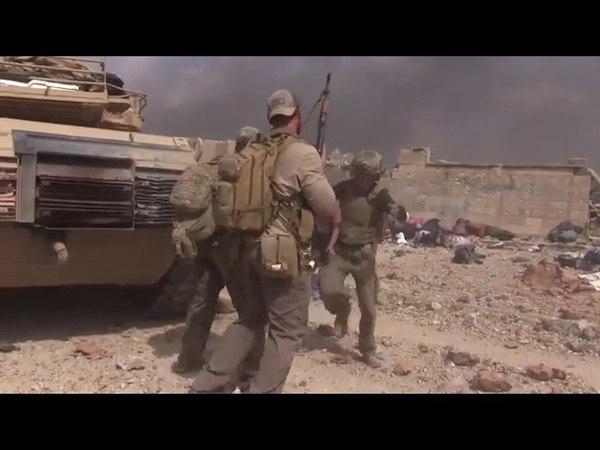 US aid worker runs through ISIS gunfire to rescue little girl