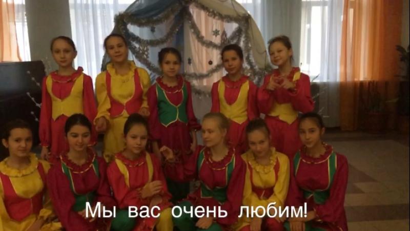 Поздравление Аксубаевского отделения Волонтеров Победы с Днём матери!