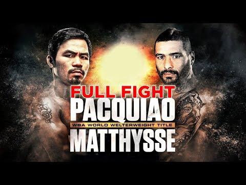 Pacquiao vs Matthysse Full Fight