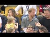 Принц без короны, или какая хорошая реакция у него на то, что девочка ворует его поп-корн