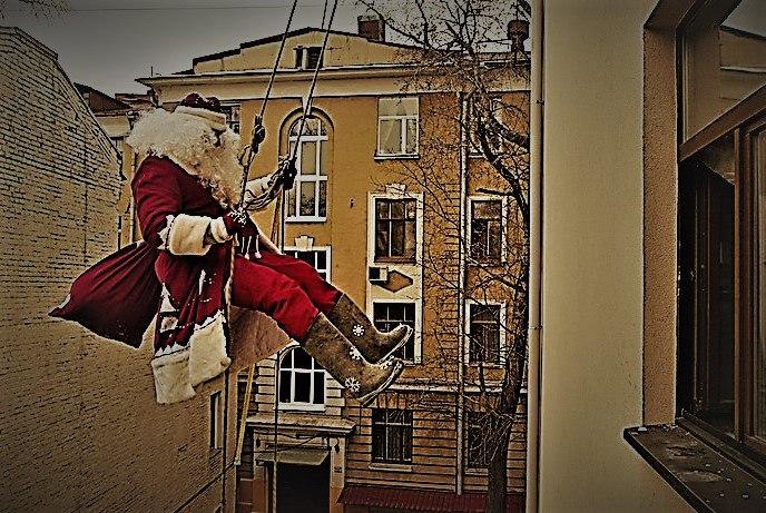 Афиша Ижевск Дед Мороз/Поздравление в окно!