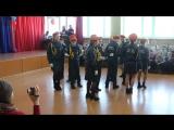 Танцуют кадеты... то ли мазурка, то ли с царских времен танец