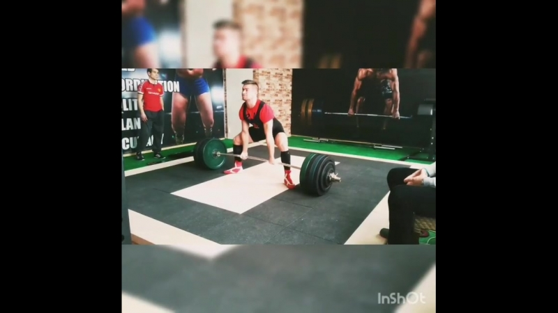 Deadlift 280kg@77kg