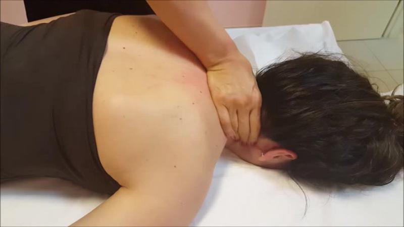 Chinese Girl powerful Girl Head Massage - ASMR video