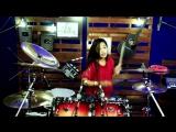 DJ AISYAH JATUH CINTA PADA JAMILAH ¦ TIK TOK ¦ Drum Cover by Nur Amira Syahira