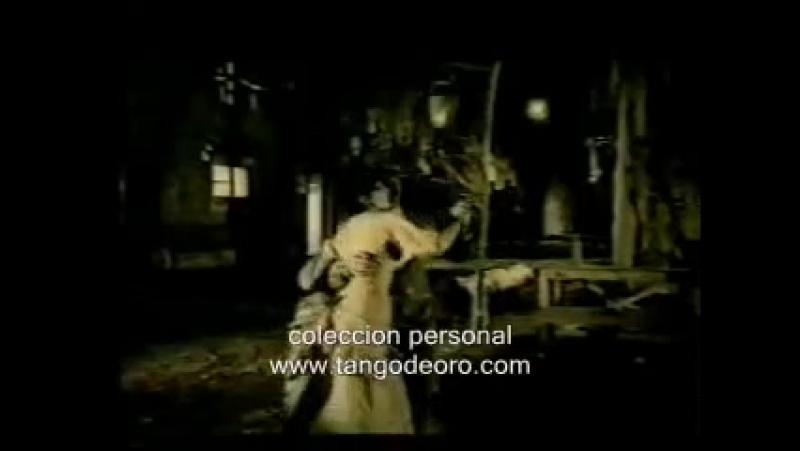 Карменсита Кальдерон говорит о старых стилях Танго Родольфо и Мария танцют Канженге