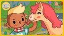 Мир конюшен - Ухаживай за лошадьми, устраивай скачки и играй * Toca Life: Stable на Kids PlayBox