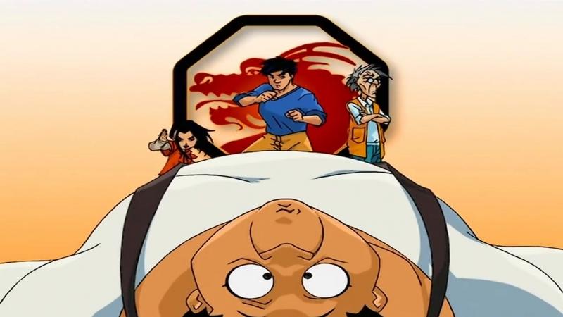 Заставка мультсериала Приключения Джеки Чана