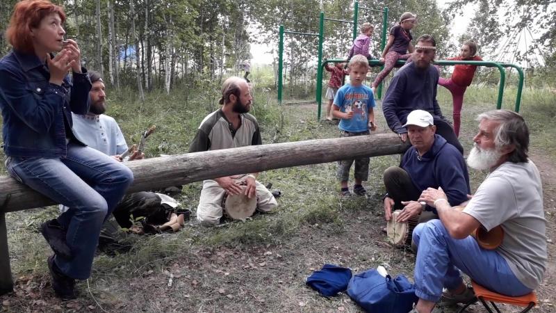 Вести с фестиваля Уральский Хоровод-18, мастера джамбэ прокачивают поляну, 2я часть...