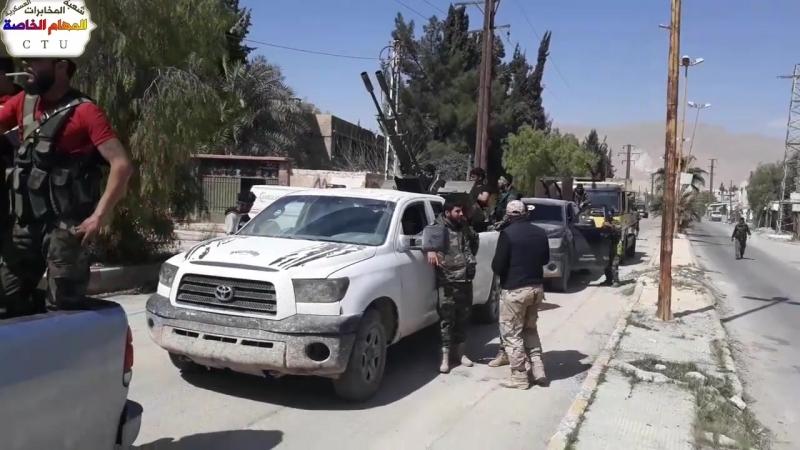 Герои спецназа контролируют ар Рейхан и его фермы в Восточной аль Гуте