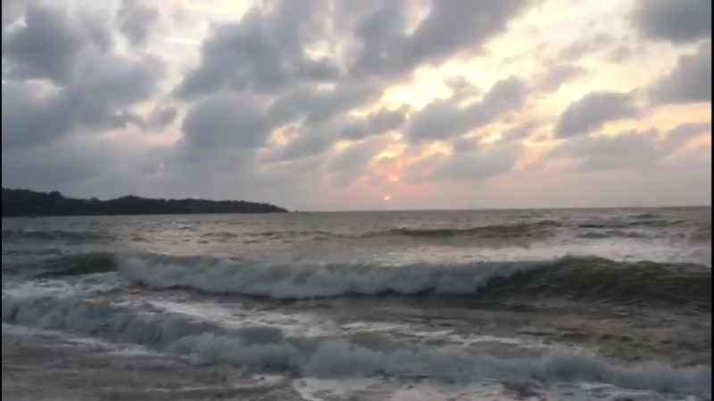 Встречаю рассвет. Берег Тихого Океана. Сиамский залив.
