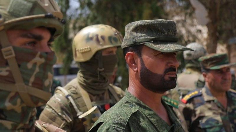 [Syria] Tiger captured Rastan without a fight   Тигр взял Растан без боя. Опубликовано: 9 мая 2018 г.