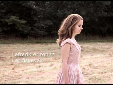 Популярная песня на венчаниях Приходится аккомпанировать Marit Larsen Vår beste dag