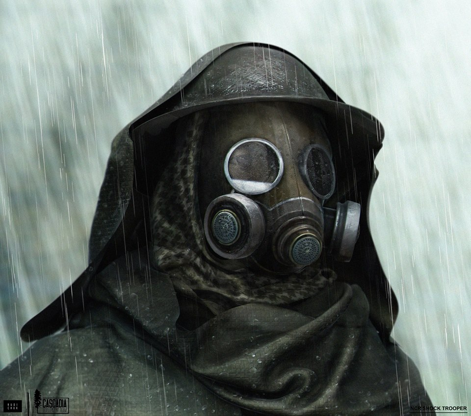 Fallout: Cascadia снова подала признаки жизни, разработчики представили тяжелую броню НКР: NCR Shocktrooper