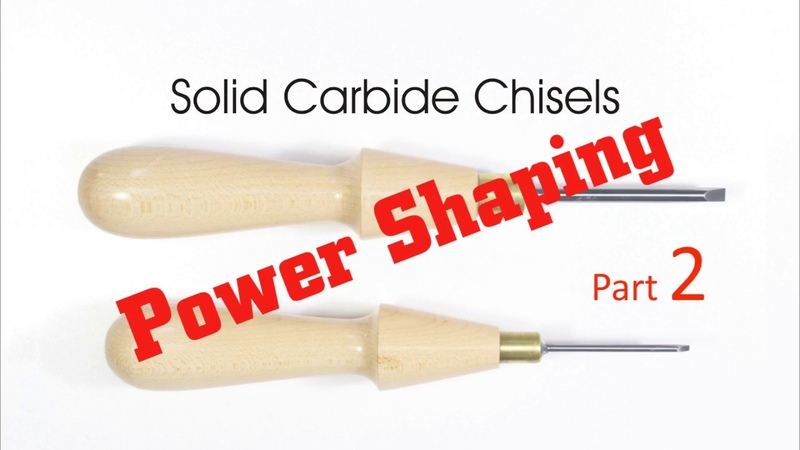 Solid Carbide Chisels: Power Shaping