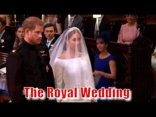 Королевская свадьба 2018 года Принц Гарри и г-жа Меган Маркл 1 часть