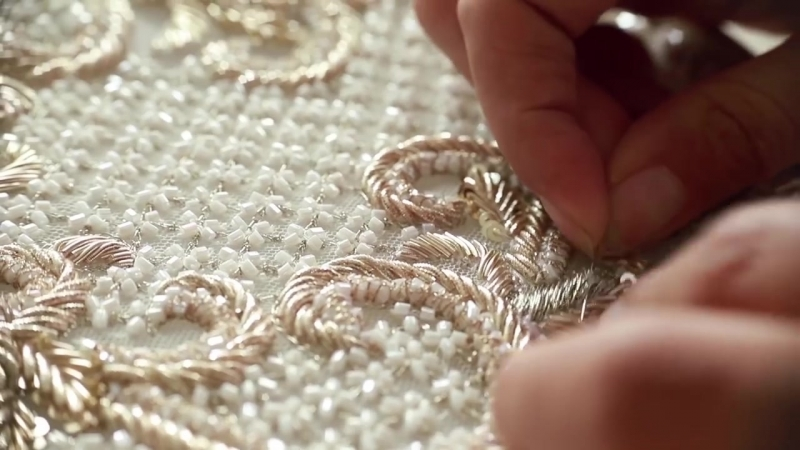 MISCHKA AOKI Craftsmanship The Making of The Spring Summer 2018 Couture