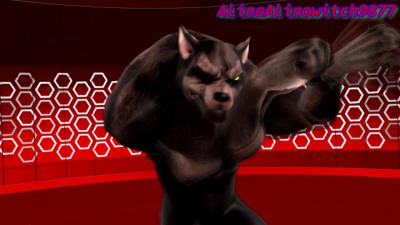 (MMD) (TMNT) Raphael Werewolf Kitty cat (MEME)