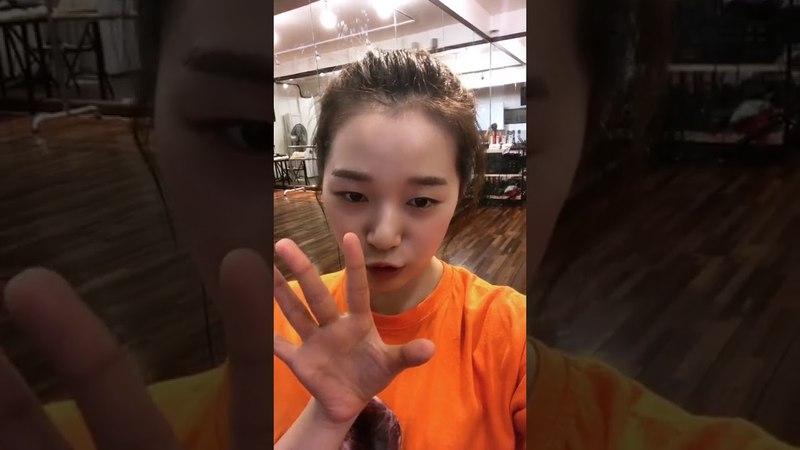 Lime Soda Hyerim (김혜림) Instagram Live [180528]