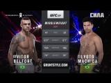 UFC 224. ЛИОТО МАЧИДА - ВИТОР БЕЛФОРТ BEST MOMENTS