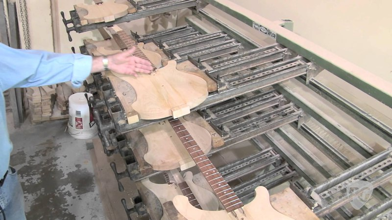 Rickenbacker Factory Tour: Model 330 Guitar & Model Bass Construction