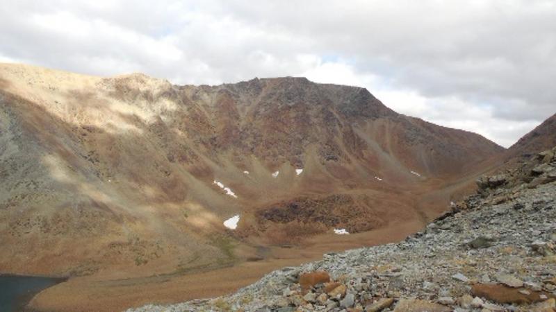 Полярный Урал-озеро Кечьпель-ты, гора Западный Пай-ер
