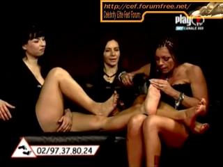 Abrianna  Dea Both Feet Gets Tickled Part 2