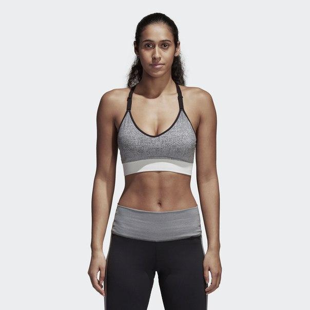 Спортивный бра-топ Strappy Heather