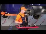 Замена передних тормозных колодок и дисков в Фольксваген Транспортер Т4 (VW Transporter T4)