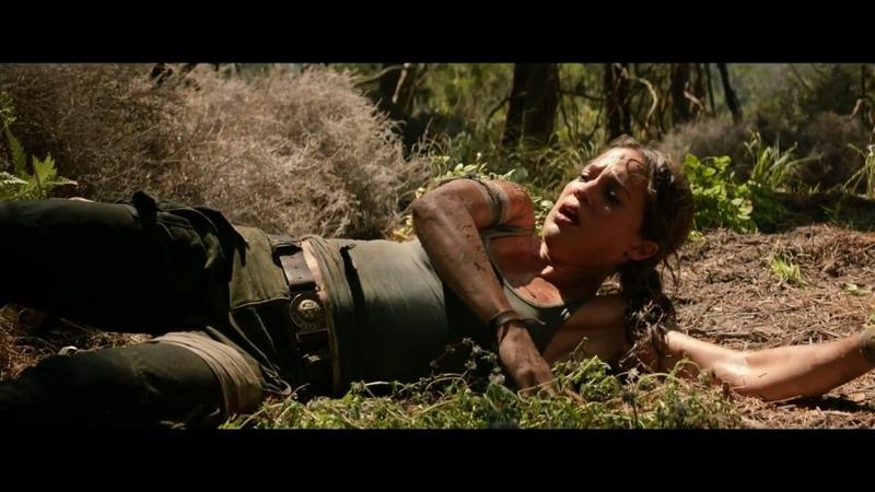 Tomb Raider: Лара Крофт.Спасительный парашют и адреналиновый спуск на землю