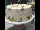 Живопись на торте :-)