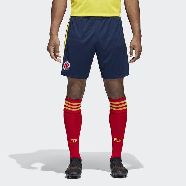 Домашние игровые шорты сборной Колумбии