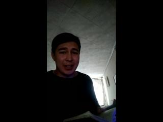 Иргалин Данир(IrDan)-Тал боросе талдарза( Моя версия песни)
