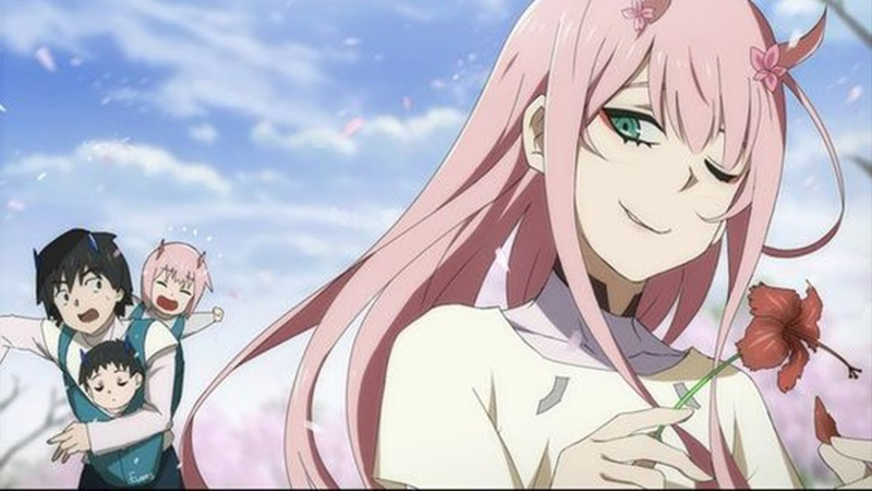 Darling in the FranXX「AMV」 Without You END