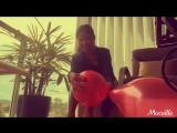 MacVille Adventures - Metallic Red Balloons - Blowing, Popping and Deflating Three Balloons ft. Heel