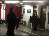 Ejercicio 2 Movimiento de manton en baile flamenco (Tecnica)