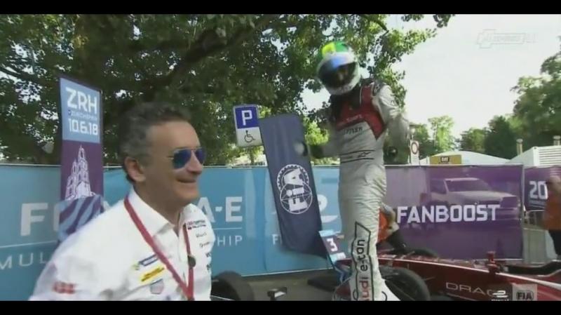 FIA フォーミュラE選手権 17/18 第10戦・決勝 チューリッヒ(スイス)
