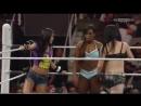WWE RAW, 30_03_15_ AjLee Naomi Paige Vs. The Bella Twins Natalia, Español