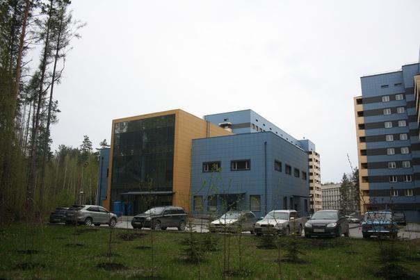 Административное здание первых медицинских общежитий.