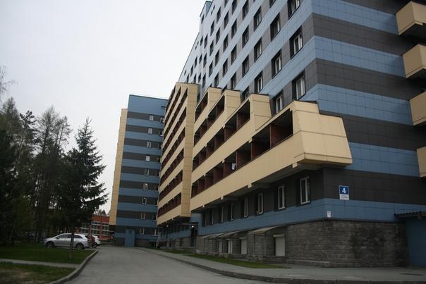 Вид на балкончики сбоку